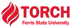 The Ferris State Torch Logo